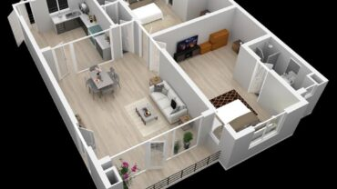 One Story Apartment